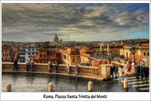 Roma, Santa Trinita dei Monti