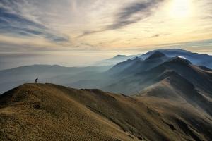 алпийския траверс Амбарица (2166 м.н.в) връх Ботев (2376 м.н.в)