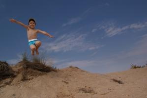 Скок в синьото