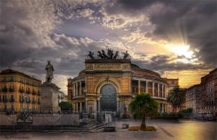 Theatro Politeama, Palermo, Sicily