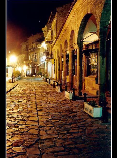 svetlinite na staria grad