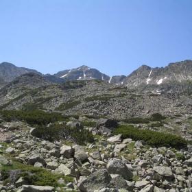 Pogled kum vruh Musala 10.07.2004