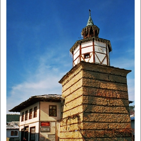 Трявна, часовниковата кула