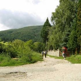 На разходка в Бистрица...