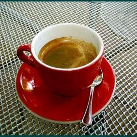 На чаша кафе