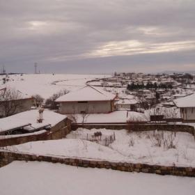 Арбанаси през зимата