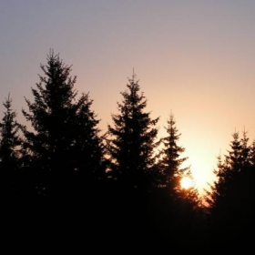 Залез над Родопите
