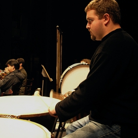 Timpanist In Action