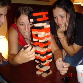 Playing Jenga!