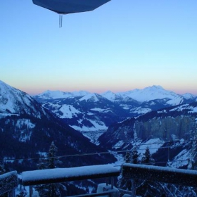View of Morzine, From Avoriaz, French Alps