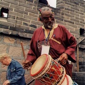 Африканские барабаны в Китае