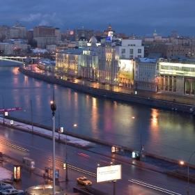 Вечер над  Москва-река