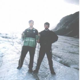 Na lednika pod GrozGlohner