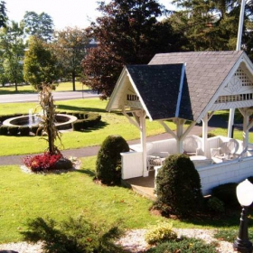 The Thompson house courtyard
