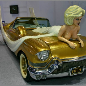 Marilyn Monroe Tribute Car