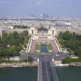 Париж отгоре