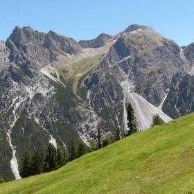 Алпийски пейзаж