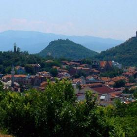 Пловдив - изглед към три тепета
