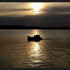 На разходка с лодка