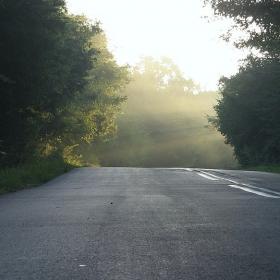 Утро на пътя