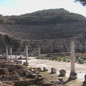 Амфитеатъра в Ефес
