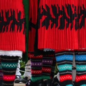 Шарени чорапки