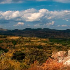 Родопски пейзаж 2 (изглед от Перперикон)
