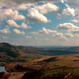 Родопски пейзаж 3 (изглед от Перперикон)
