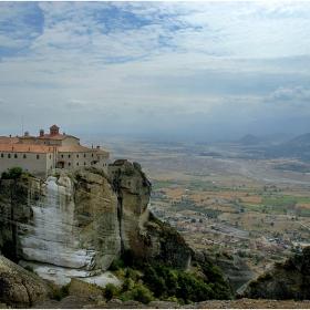 Метеора - един от манастирите.