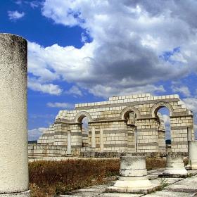 Плиска - базиликата