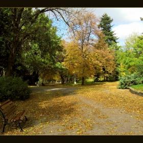 Есенно слънце в парка