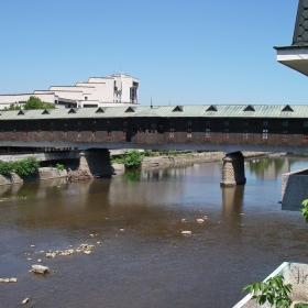 Покритият мост в Ловеч