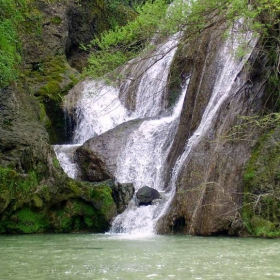 Хотнищкия Водопад, долната част