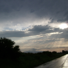 След бурята