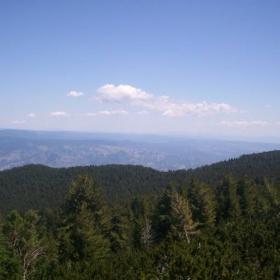 поглед от Пирин към Родопите
