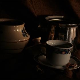 Орехов чай...
