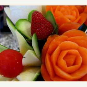 Изкуство с плодове и зеленчуци