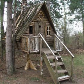 къщата на баба  Яга