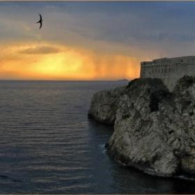 Залез над Дубровник