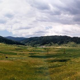 Панорама край с. Борино