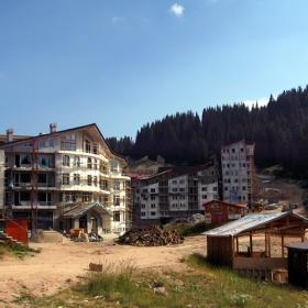 Строителната площадка Пампорово