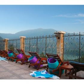 изглед от спа-хотел Чилингира