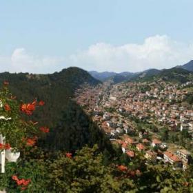Поглед към Неделино - Източни Родопи