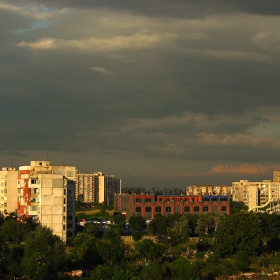 Аквапарка в Пловдив - изглед от терасата