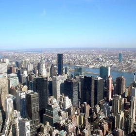 Гледка към Манхатън- Ню Йорк