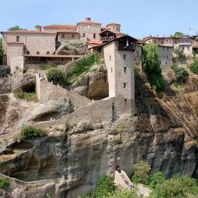 Манастира Великият Метеор-Метеора