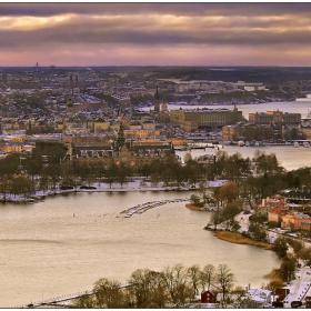 Стокхолм от птичи поглед