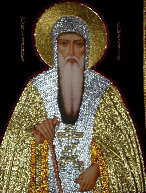 Икона на Св.Иван Рилски