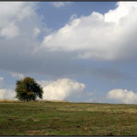 Сред облаците...
