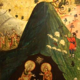 Икона Рождество Христово, 18-19 век. Горна Оряховица